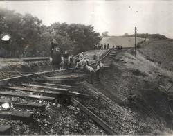 Collapsed culvert no 146 near Ayton