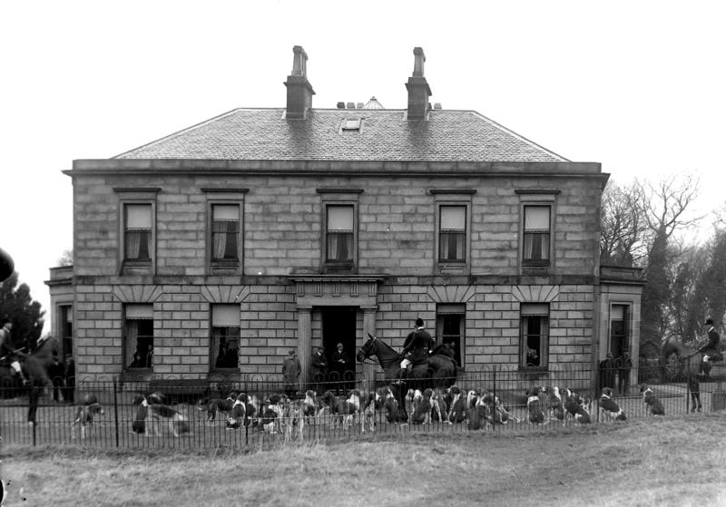 Fox Hounds at Peelwalls House