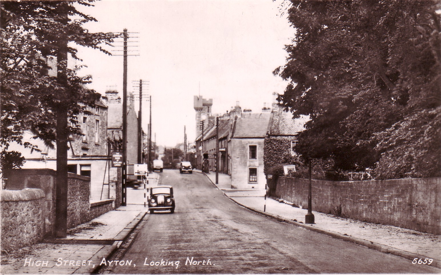 High Street Ayton Looking North
