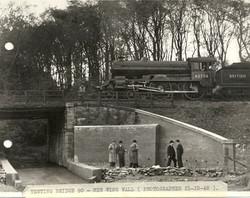 Testing bridge 90 with Forfarshire locomotive