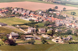Aerial shot - early 1980s