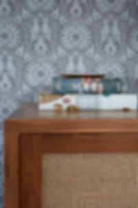 North Shore Chicago Family TV Room Detail - Maren Baker Design