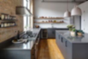 West Town Chicago Loft Kitchen Remodel - Maren Baker Design