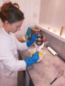 Fabrication du savon Bulles des Cévennes