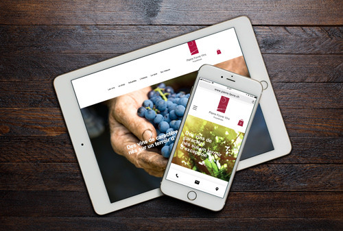Pierre Favre Vins Site online