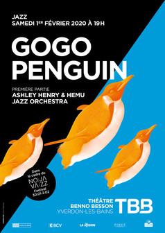 Affiche TBB Gogo Penguin