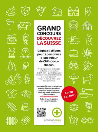 Grand Concours «Découvrez la Suisse»