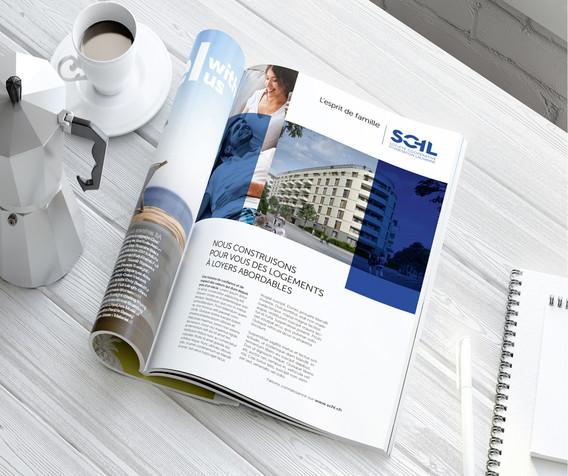 Projet de magazine SCHL