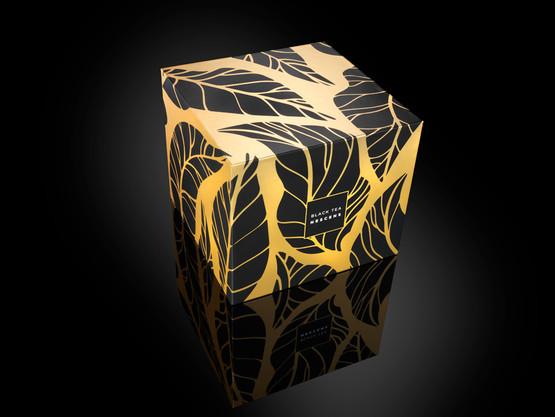 Bougie parfumée Thé noir