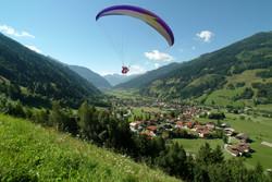 Paragliding über Dorfgastein