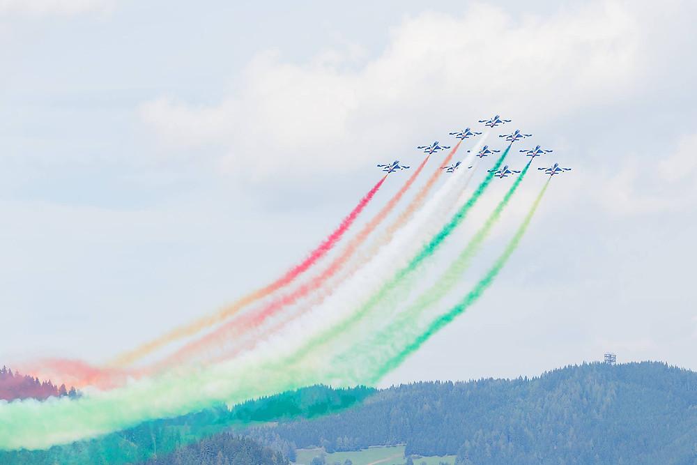 Künststücke bei der Airpower