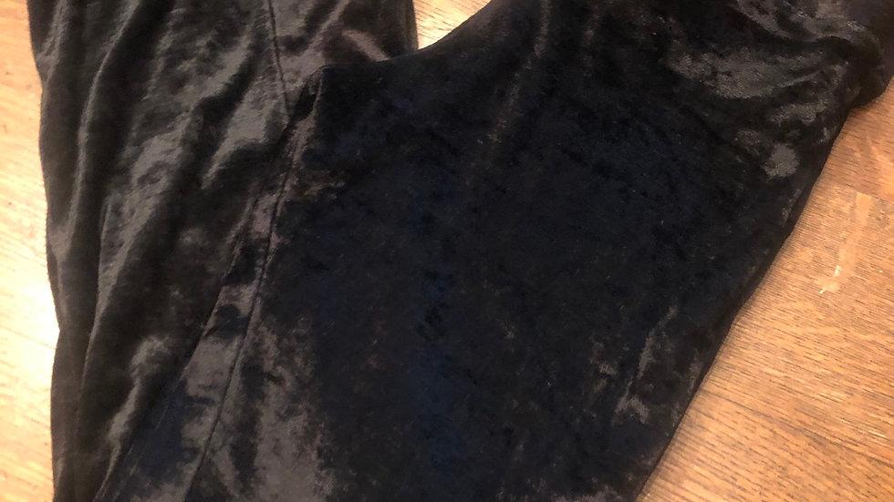 Child size velvet black pants