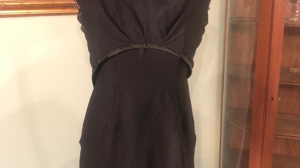 Gorgeous mid century black dress