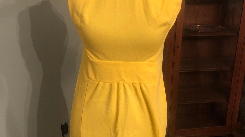 Fabulous yellow vintage dress