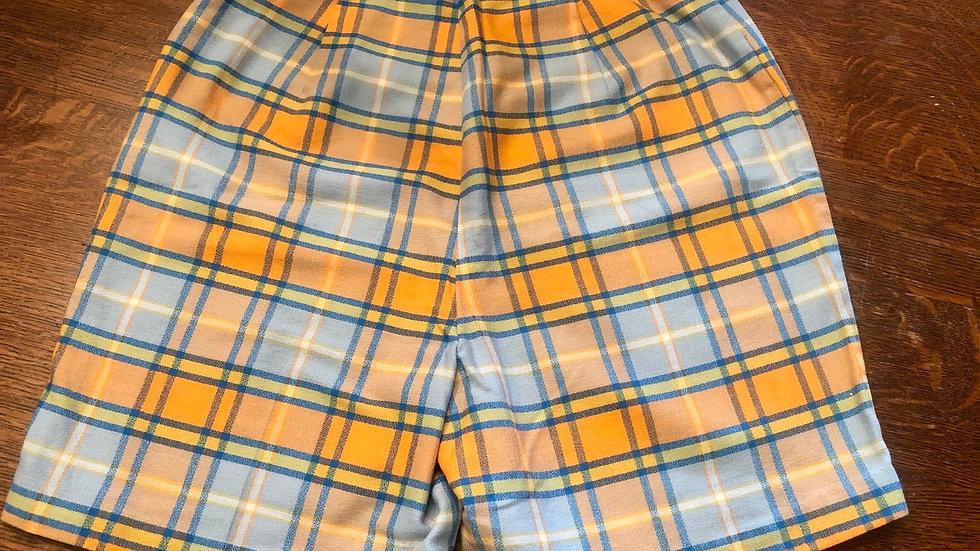 Fabulous high rise mid-century shorts XS/S