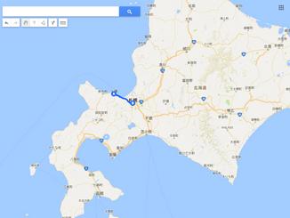 原付で北海道を1周した話 1日目