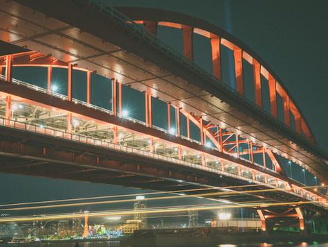 【穴場】神戸の夜景撮影スポット紹介【神戸大橋】