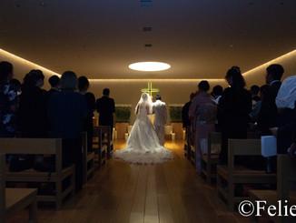 結婚式の撮影に行ってまいりました。
