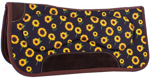 Sunflower Saddle Pad