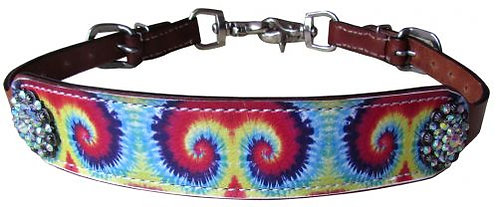 Tie Dye Wither Strap