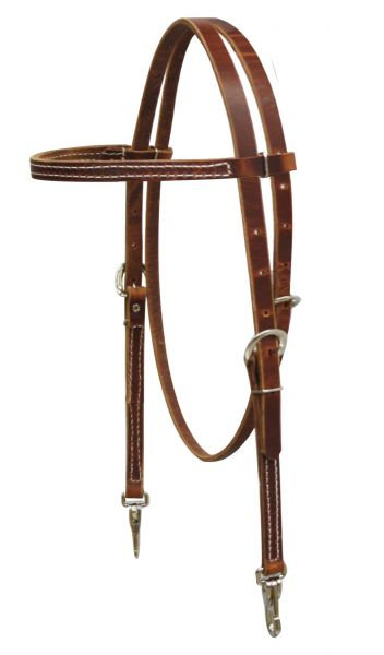 Harness Leather Quick Change Browband Headstall