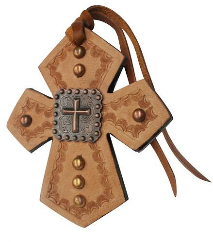 Cross Concho Saddle Cross