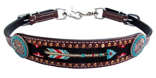 Beaded Arrow Wither Strap