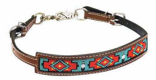 Beaded Inlay Wither Strap #19313