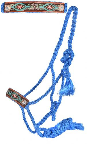 Aztec Mule Tape Bronc Halter w/ Lead