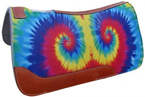 Tie Dye Print Saddle Pad