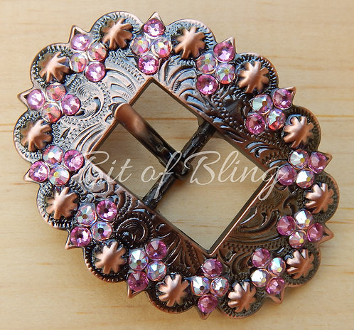 Copper Berry Cart Buckle - Rose & Rose AB