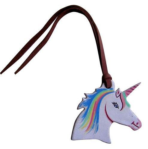 Unicorn Head Saddle Charm
