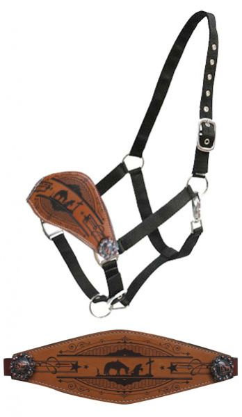 Praying Cowboy Bronc Halter