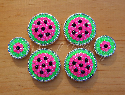 Watermelon Saddle Set