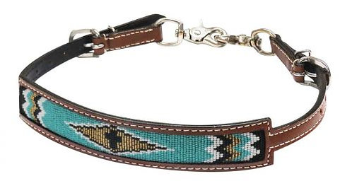 Beaded Inlay Wither Strap #19314
