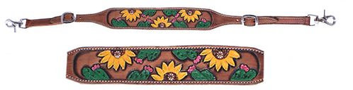 Sunflower & Cactus Wither Strap