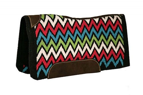 Chevron Memory Felt Saddle Pad