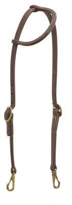 Oile Harness Leather Quick Change One Ear Headstall