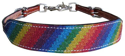 Rainbow Glitter Wither Strap