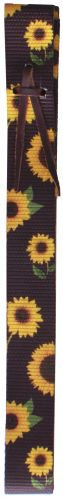 Sunflower Print Latigo