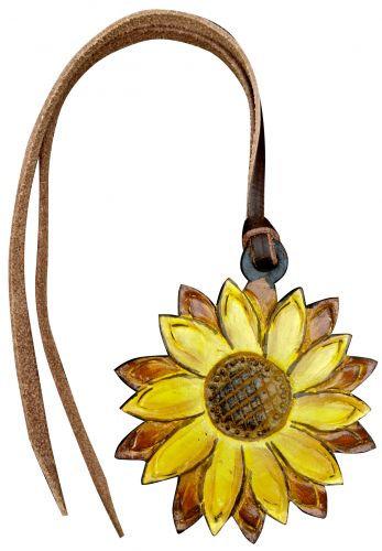 Sunflower Saddle Charm