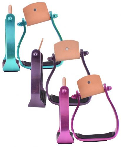 Color Coated Angled Aluminum Stirrups