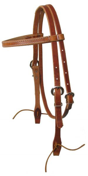 Harness Leather Browband Headstall