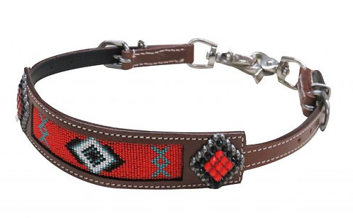 Beaded Inlay Wither Strap #19282