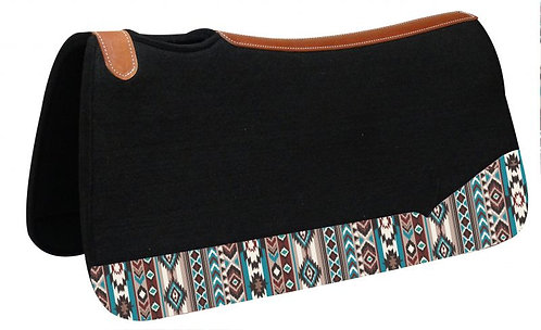 Multi Color Navajo Diamond Print Saddle Pad