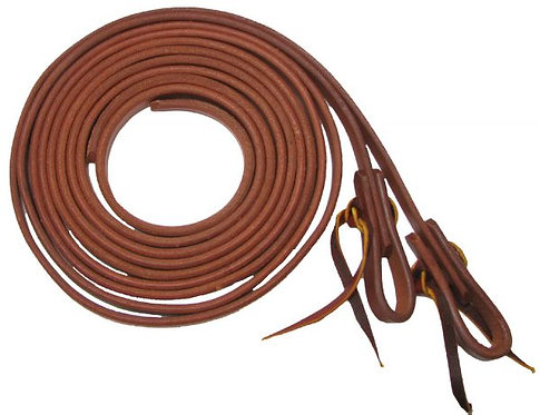 Oiled Harness Leather Split Reins