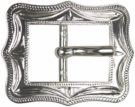 Shiny Silver Cart Buckle