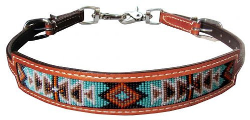 Beaded Inlay Wither Strap #19577
