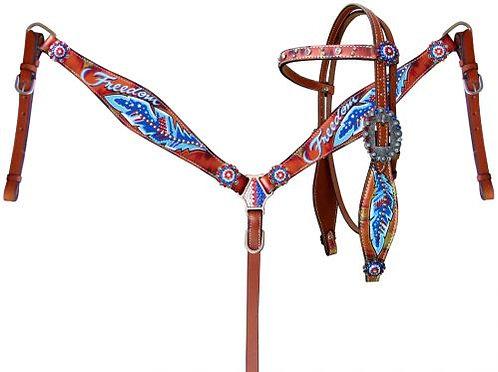 Freedom Feather Tack Set