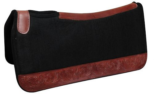 Floral Tooled Saddle Pad